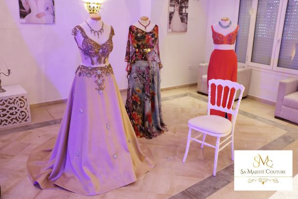 En photos et vidéo : Lancement de la nouvelle collection de l'atelier Sa Majesté Couture