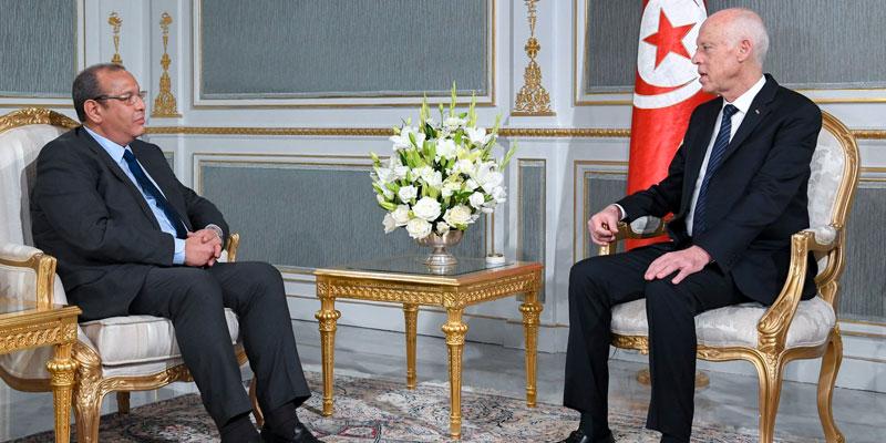 Après Taboubi, Kaïs Saïed reçoit Samir Majoul