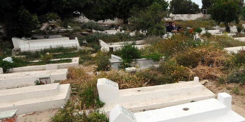 ذهب إلى المقبرة ولكنّه لم يجد قبر والده: بلدية أريانة تتدخل