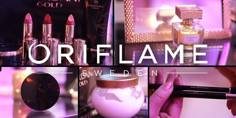 En vidéo : Oriflame présente ses nouveautés make-up Giordani Gold