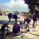 En photos : Une grande action de nettoyage aux périphéries de Tunisia Mall
