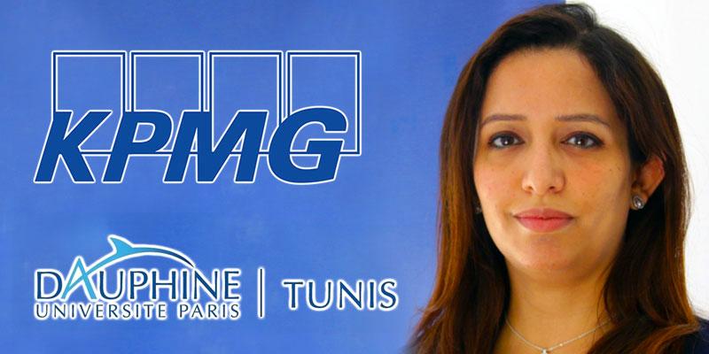 En vidéo : Manel Zammouri Miladi présente le partenariat entre Dauphine et KPMG