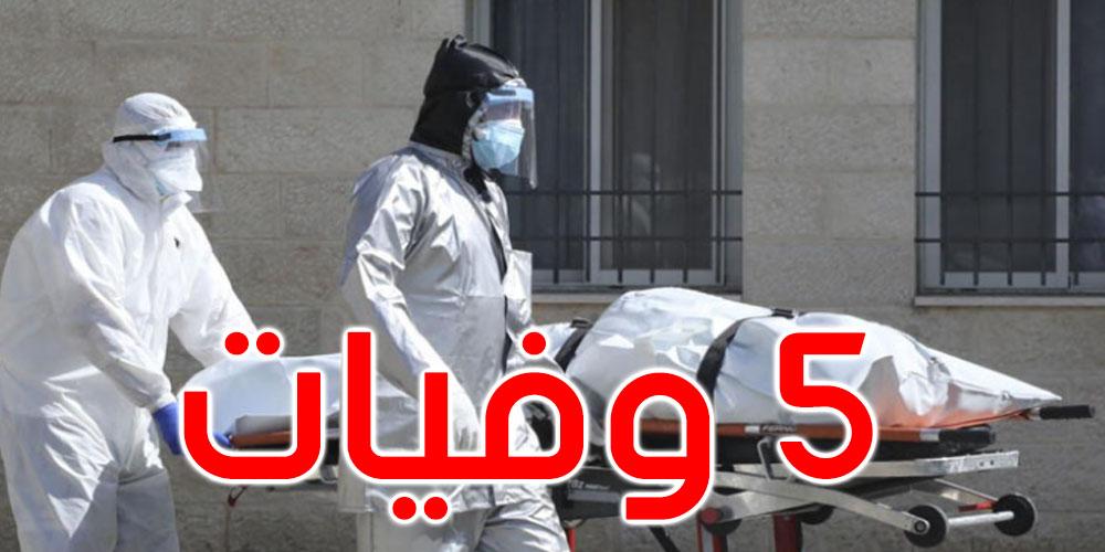 منوبة: 5 حالات وفاة و514 إصابة جديدة بفيروس كورونا