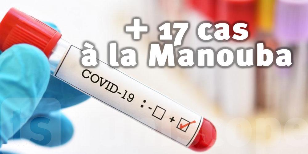 17 nouveaux cas à la Manouba
