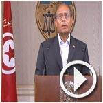 En vidéo-Marzouki : Pour chaque homme, la mère, la femme, la fille, la tante et la sœur sont les plus chères à son cœur