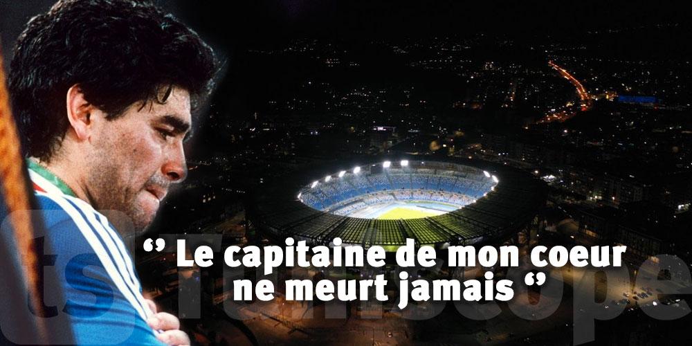 L'hommage émouvant de Maradona Junior