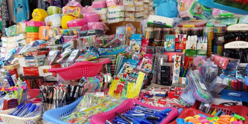 Mise en garde contre l'achat des fournitures scolaires vendues sur le marché parallèle