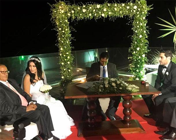 En photos : Célébration du premier mariage d'une Tunisienne avec un non-musulman