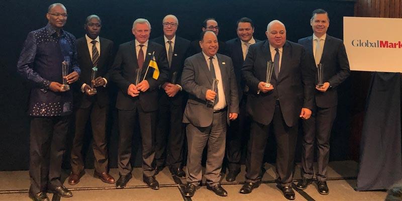 En photos : Marouane EL Abassi reçoit le prix du meilleur Gouverneur pour la région MENA