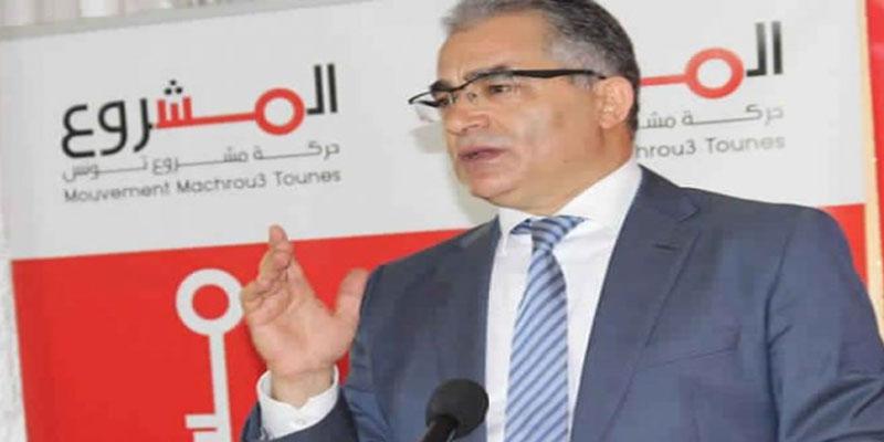 محسن مرزوق: الحملة المنظمة ضد رئيس الجمهورية لا تفيد إلا حركة النهضة ورئيسها