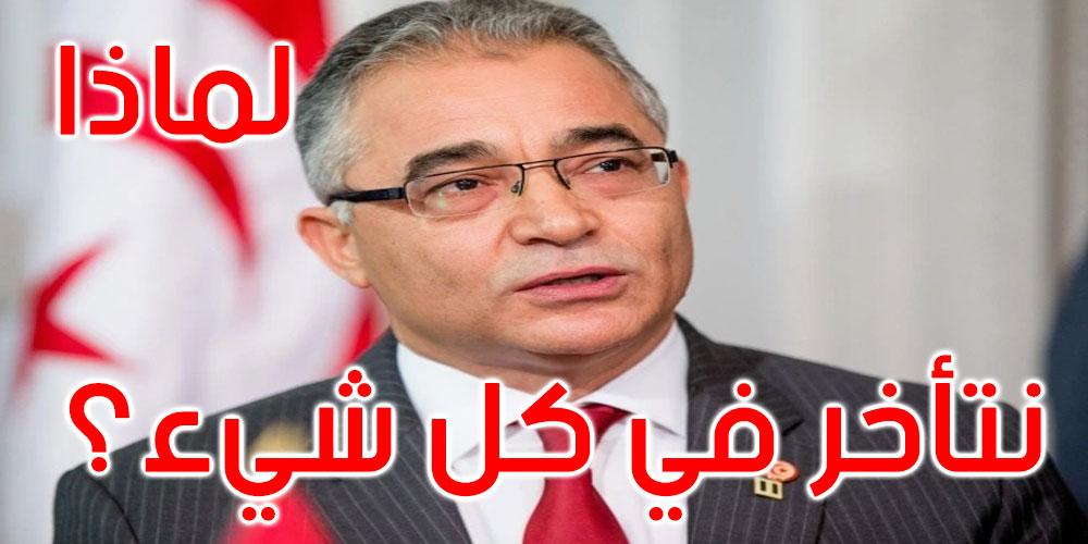 محسن مرزوق يطالب رئيس الحكومة بالخروج وطمأنة التونسيين حول الوضع الوبائي