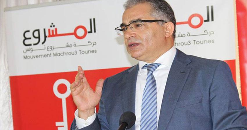محسن مرزوق: قيادات حركة مشروع تونس ستجتمع بقيادات المشروع السياسي ليوسف الشاهد