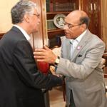 Rencontre avec les représentants des partis, Marzouki : Je ne démissionnerai pas !