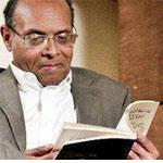 أمين محفوظ : المرزوقي معرض للسجن لمدة عامين بسبب كتابه الأسود