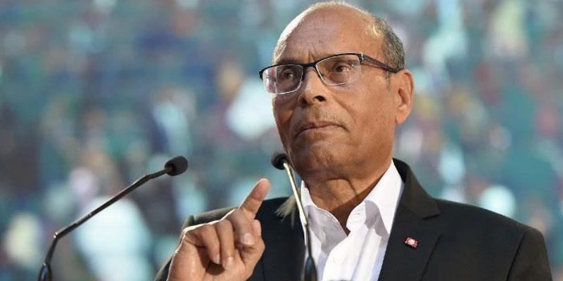 Les protestations sociales sont le résultat de l'échec des politiques du gouvernement, selon Moncef Marzouki