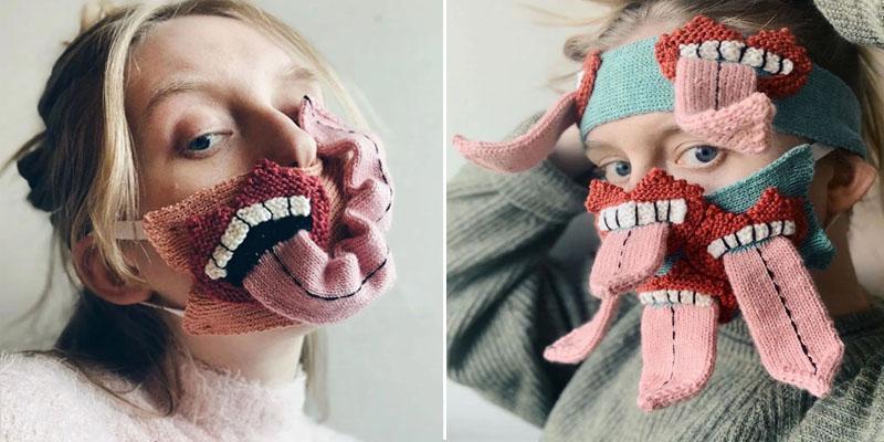 En photos:  Des masques horrifiques pour respecter la distanciation sociale