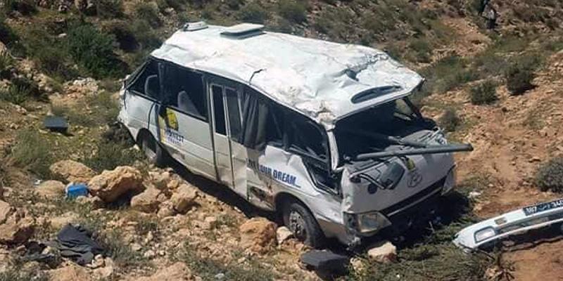 Quatre blessés dans l'accident du bus touristique quittent l'hôpital régional