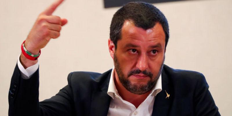 Salvini demande à la Tunisie de mieux contrôler les départs des migrants