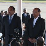 بالصّور : استقبال رئيس موريتانيا السيد محمد ولد عبد العزيز