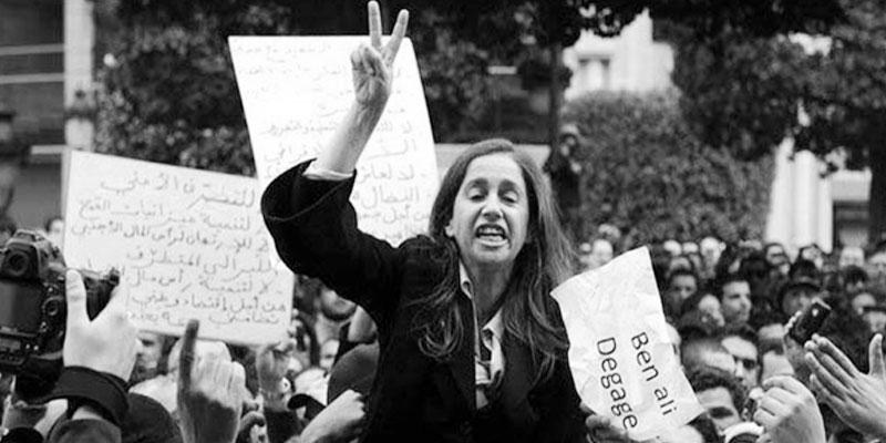 Maya Jribi, la militante, n'est plus