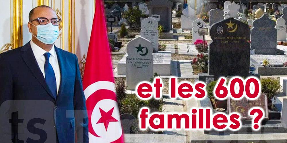 Les familles des victimes de COVID grandes oubliées de la visite de Mechichi en France