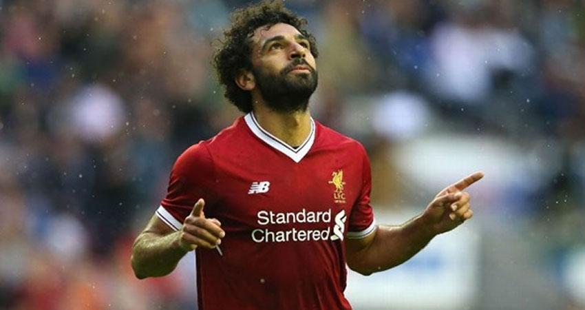 ليفربول يعلن مفاجأة عن أهداف محمد صلاح