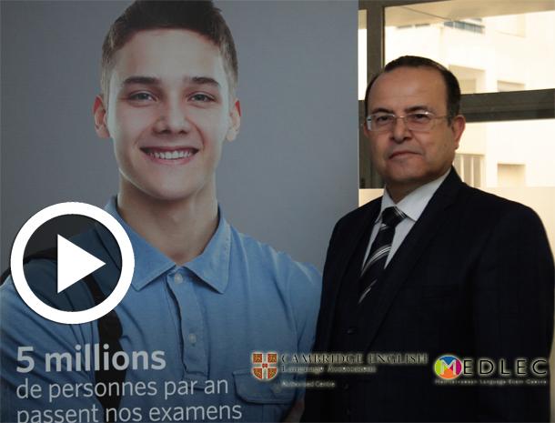 En vidéos : Medlec Tunis, accréditée par Cambridge English pour la certification en langue anglaise