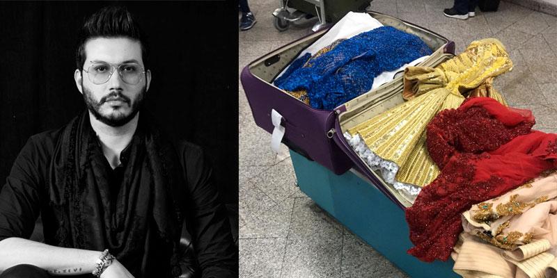 En photos : Le créateur Mehdi Kallel raconte sa mésaventure à l'aéroport de Tunis-Carthage