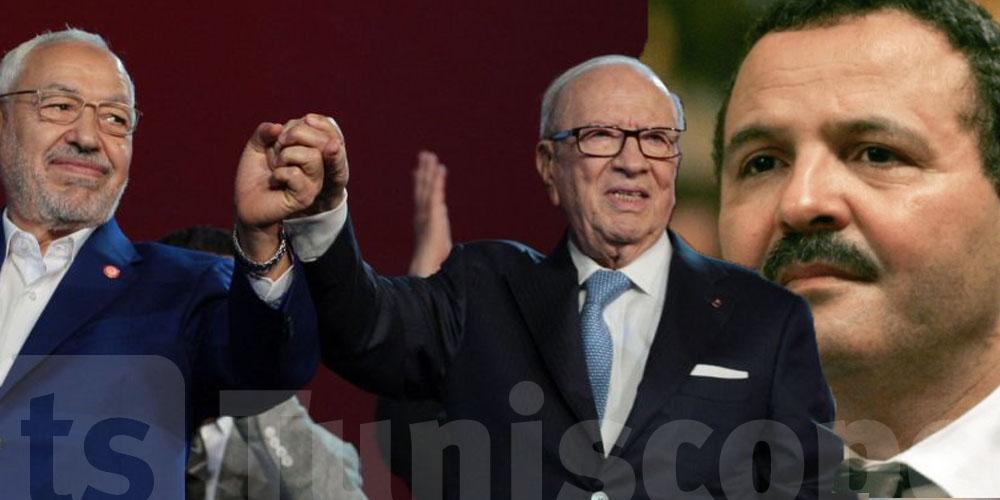 المكي يكشف عن صفقة باريس بين  الغنوشي و السبسي