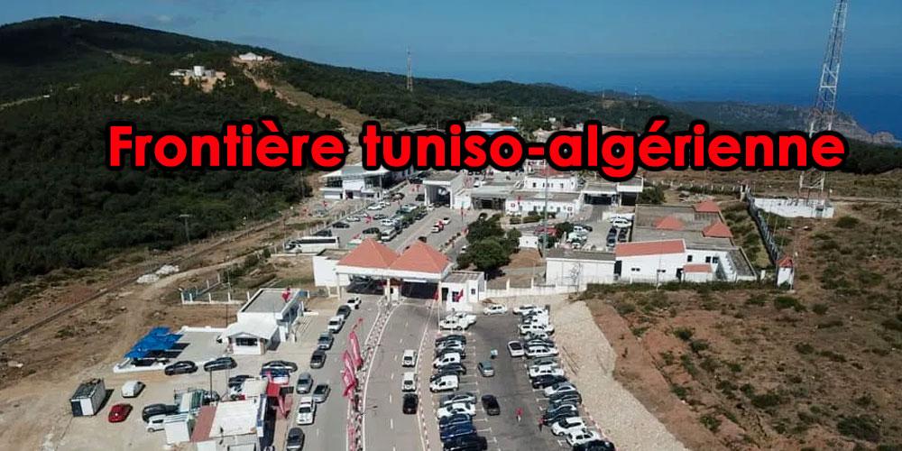 Des Tunisiens rapatriés d'Algérie par le passage Melloula