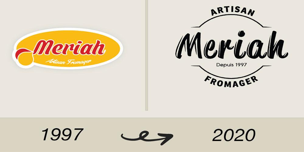 En vidéo : La fromagerie Meriah dévoile son nouveau logo