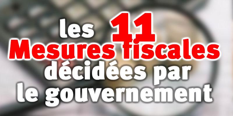 11 Mesures fiscales décidées par le gouvernement