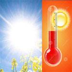 الطقس يوم الخميس: شهيلي وحرارة تصل إلى 44 درجة