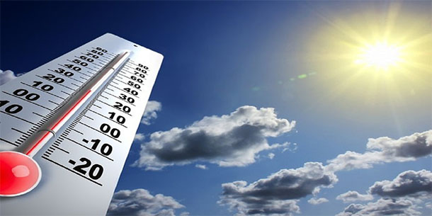 Week-end : Températures maximales entre 31 et 36°C sur les régions côtières Est, samedi