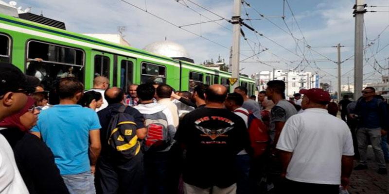 Le trafic du métro reprend après une perturbation dans la station de de la cité El Kadhra<