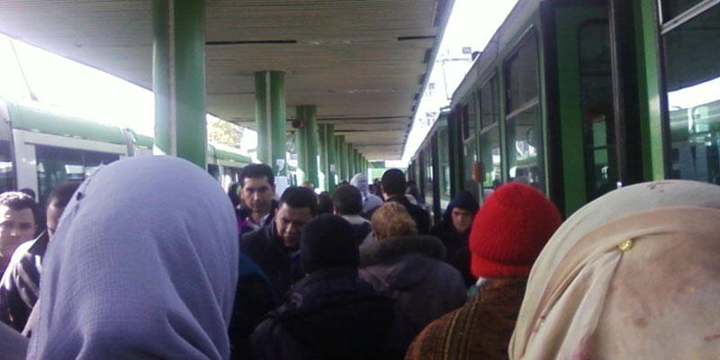 Le trafic du métro entre les stations Barcelone-Bab Aliwa effectué sur une seule voie, à partir d'aujourd'hui