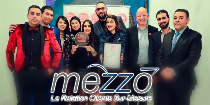 Le Groupe MEZZO sacré Meilleur Employeur en Tunisie,Best Place To Work  par Best Group Companies USA