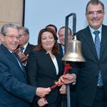 Wided Bouchammaoui et Mansour Moalla célèbrent la réussite de la MPBS en Bourse