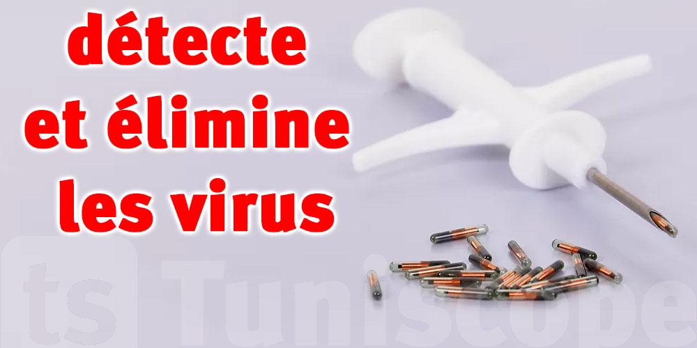 Une micropuce développée par le Pentagone pour combattre les virus