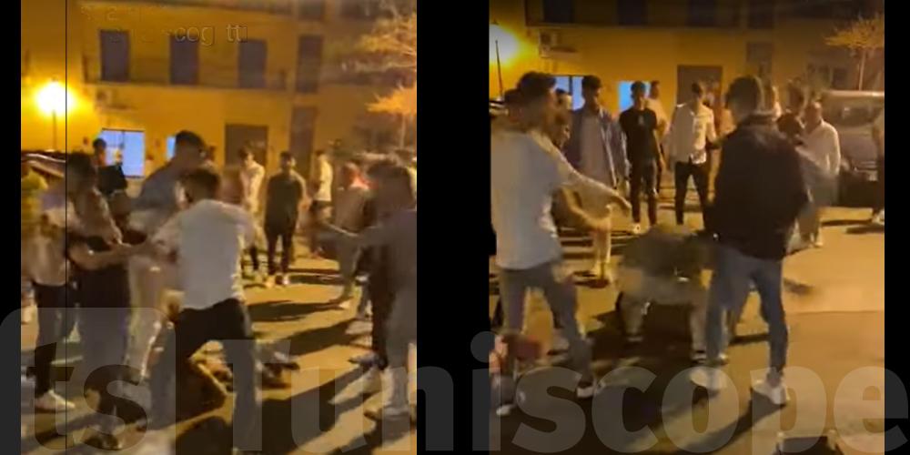 Vidéo-Scandaleux : Un migrant tunisien tabassé en Italie