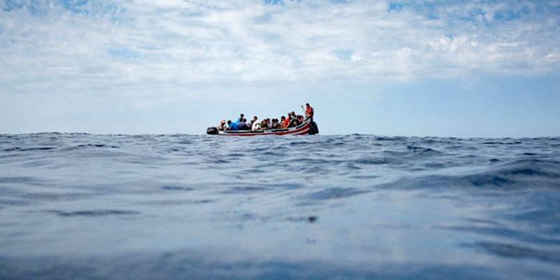 71 migrants irréguliers de différentes nationalités secourus au large de Kerkennah