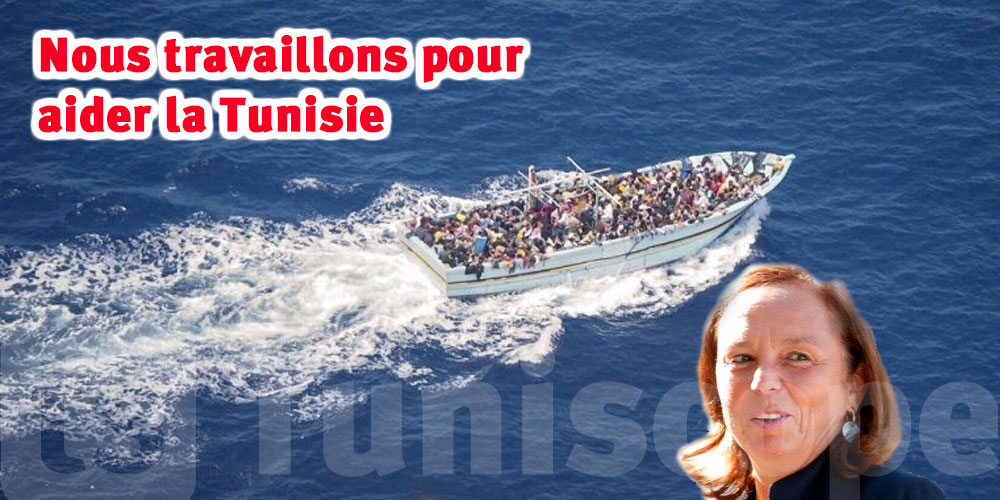 Nous travaillons pour aider la Tunisie, déclare la ministre de l'Intérieur italienne