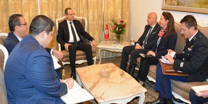 Hichem Fourati reçoit l'ambassadeur de France en Tunisie