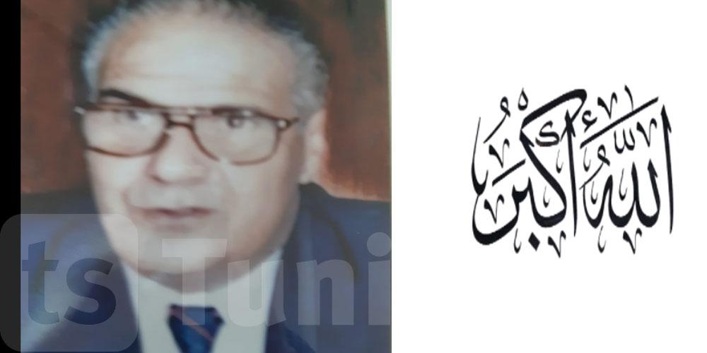 وفاة وزير النقل الأسبق الطاهر بلحاج علي
