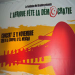 L'Afrique fête la democratie : Le concert de Mo Ibrahim qui aura lieu 11 novembre 2011