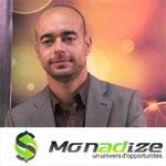Bilel Besbes monétise la pub en ligne avec Monadize