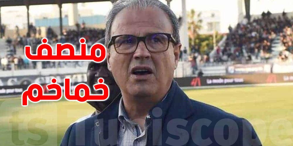 رئيس النادي الصفاقسي يصل الى تونس