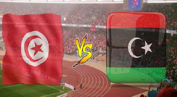 توقيت المباراة الحاسمة بين تونس و ليبيا
