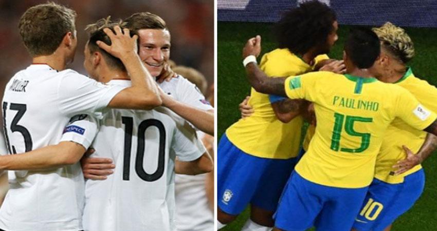 الجماهير لا ترغب في نهائي مبكر بين البرازيل وألمانيا<