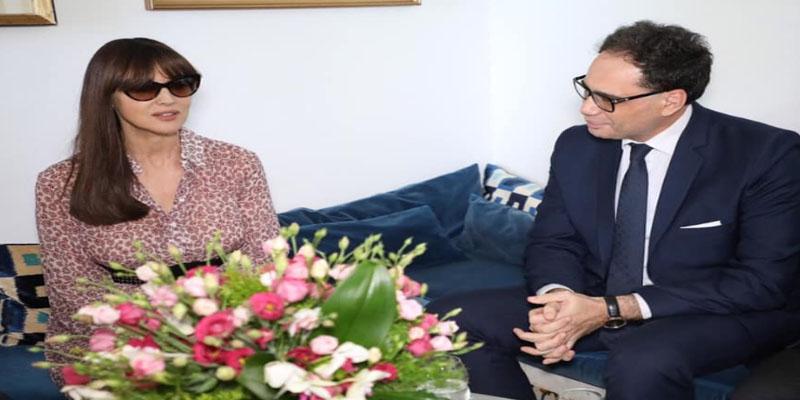 النجمة الايطالية مونيكا بيلوتشي تخوض تجربة التصوير السينمائي في تونس